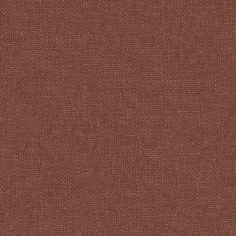 Brick red plain cotton fabric for domestic and contract curtains or upholstery