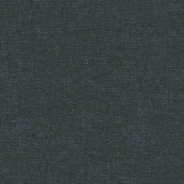 Dark blue cotton fabric with a stain resistant finish, suitable for curtains and upholstery