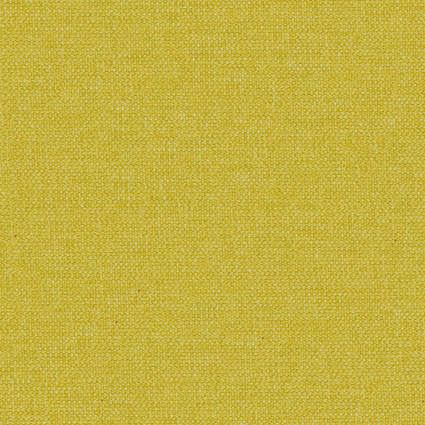 Bright yellow cotton washable fabric for contract and domestic furnishings or curtains