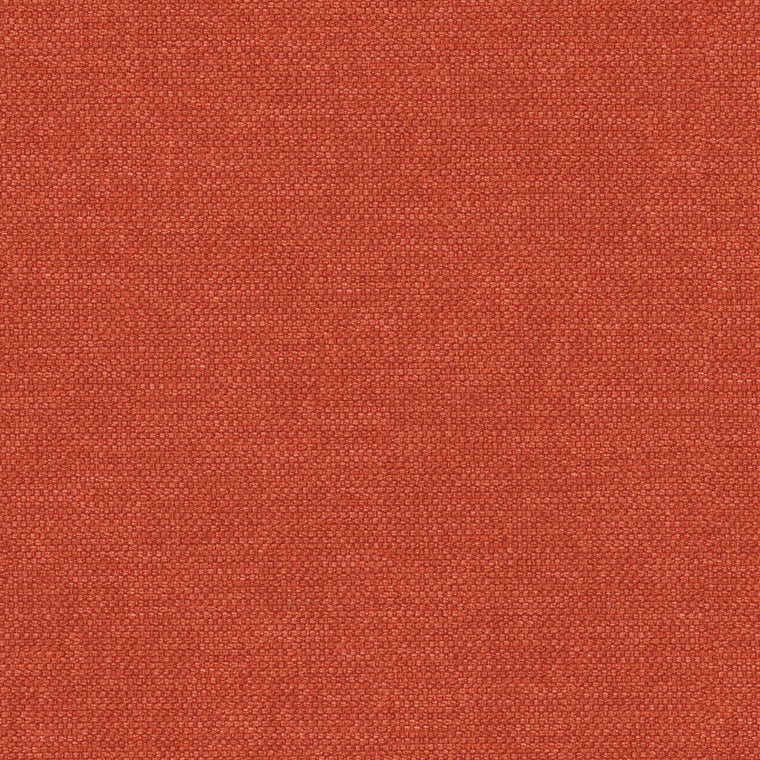 Orange plain cotton fabric for contract and domestic upholstery or curtains