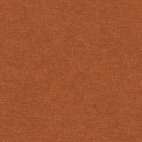 Plain cotton fabric in a burnt orange colour for contract and domestic upholstery or curtains