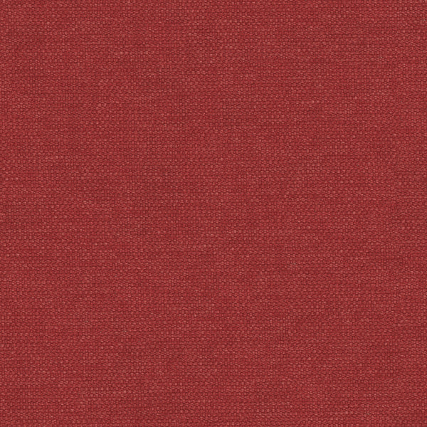 Red plain cotton fabric for contract and domestic upholstery or curtains