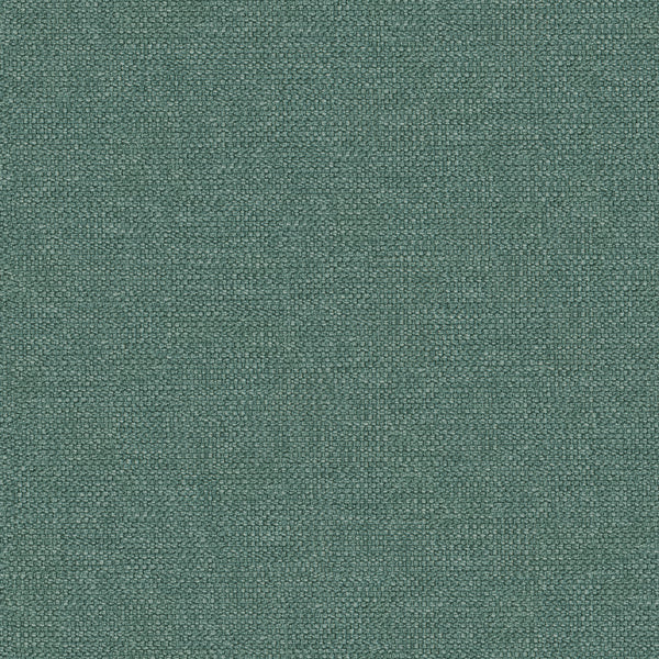 Plain teal cotton fabric suitable for domestic and contract use