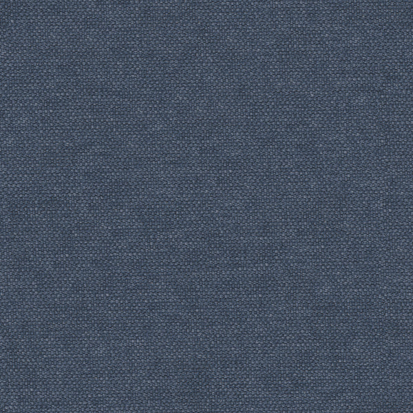 Plain cotton fabric for curtains and upholstery in a midnight blue colour
