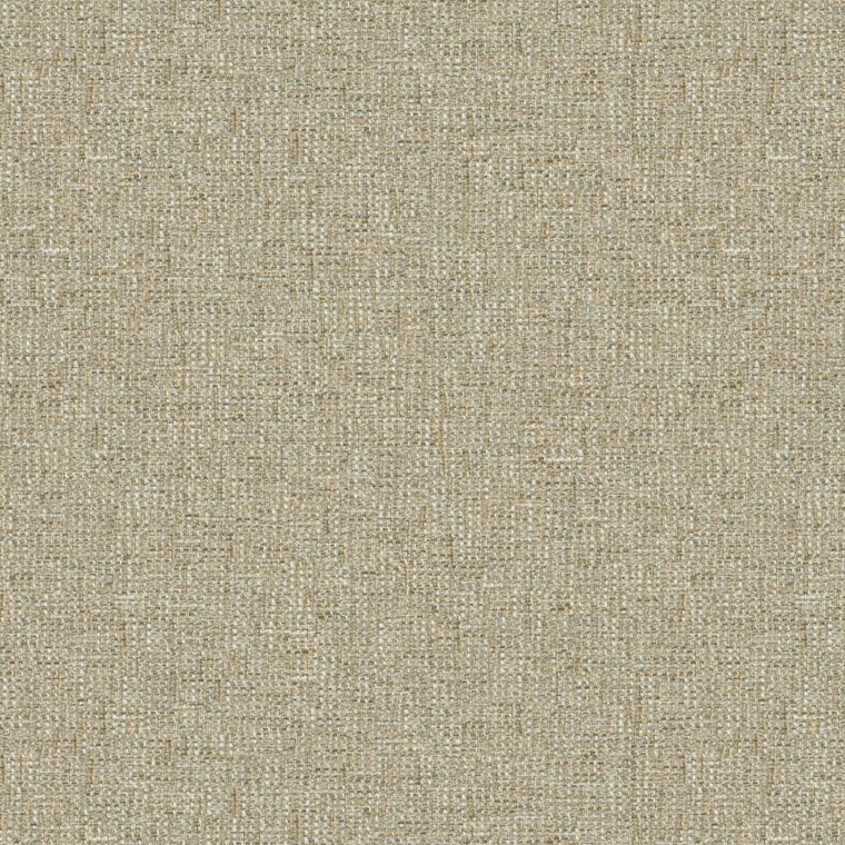 Fabric swatch of a stain resistant weave fabric with a tweed design in neutral colours