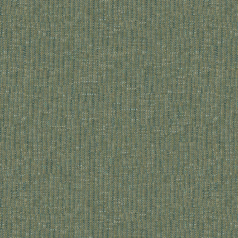 Fabric swatch of a stain resistant weave fabric with a tweed design in blue colours