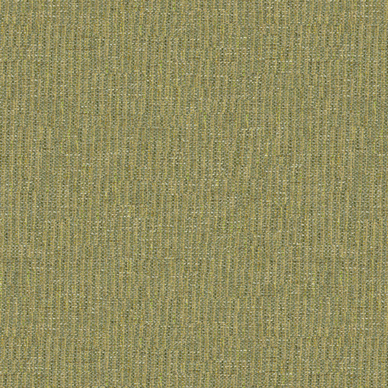 Fabric swatch of a stain resistant weave fabric with a tweed design in yellow colours