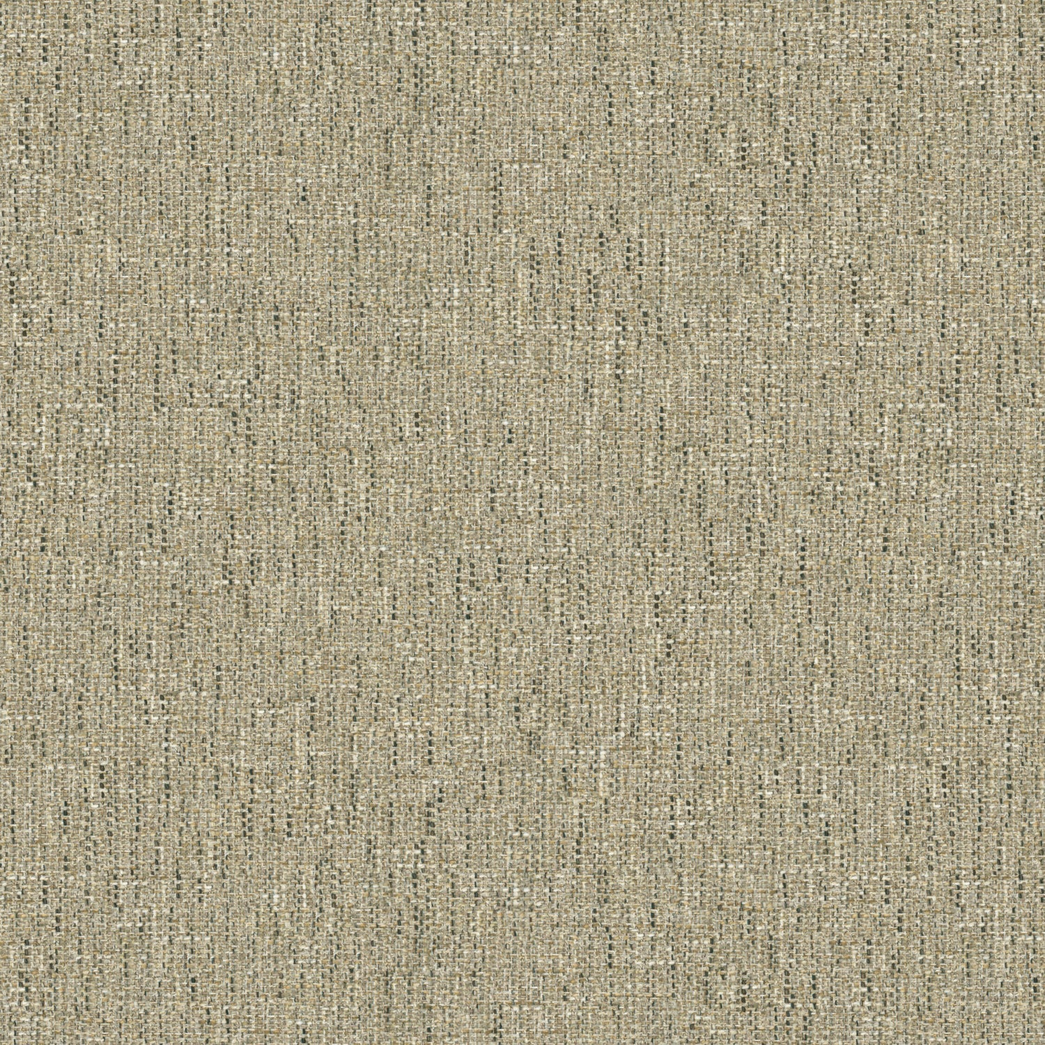 Fabric swatch of a stain resistant weave fabric with a tweed design in grey colours