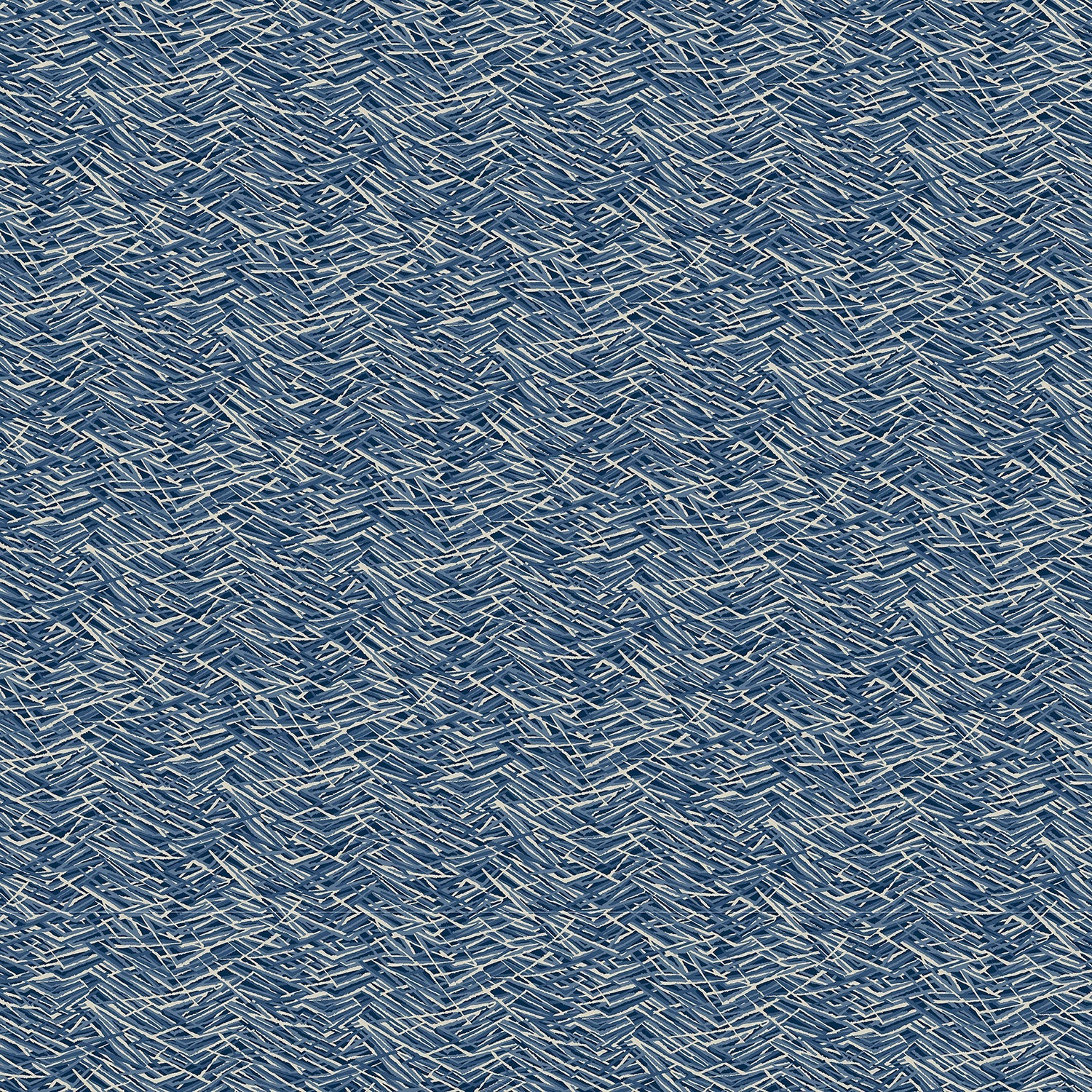Blue velvet fabric with a modern abstract design and stain resistant finish