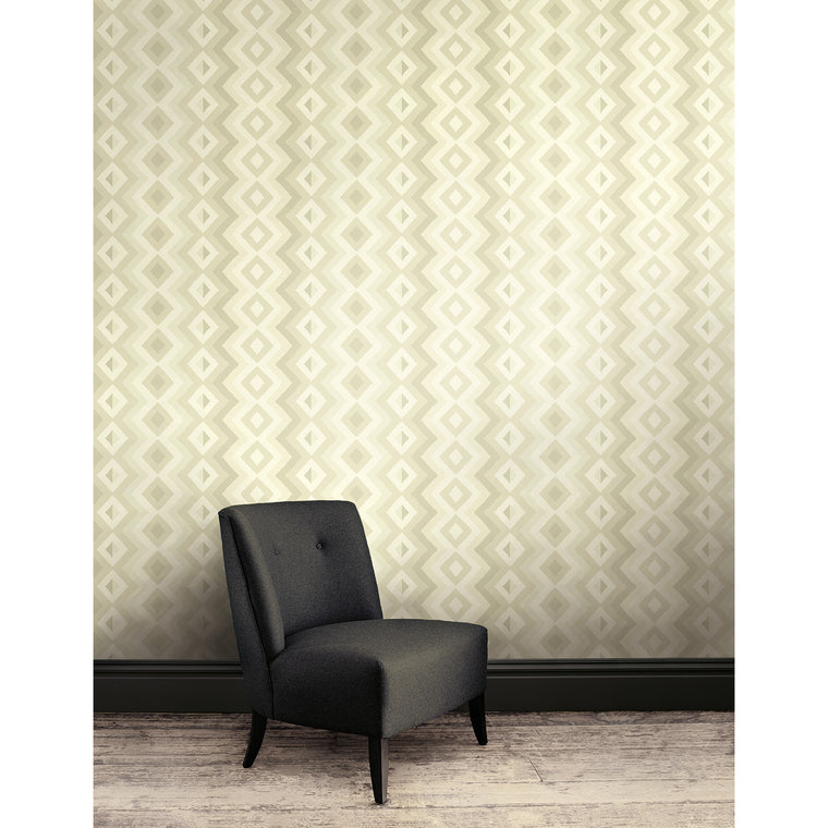 Luxury wallpaper for walls with a pearl geometric design