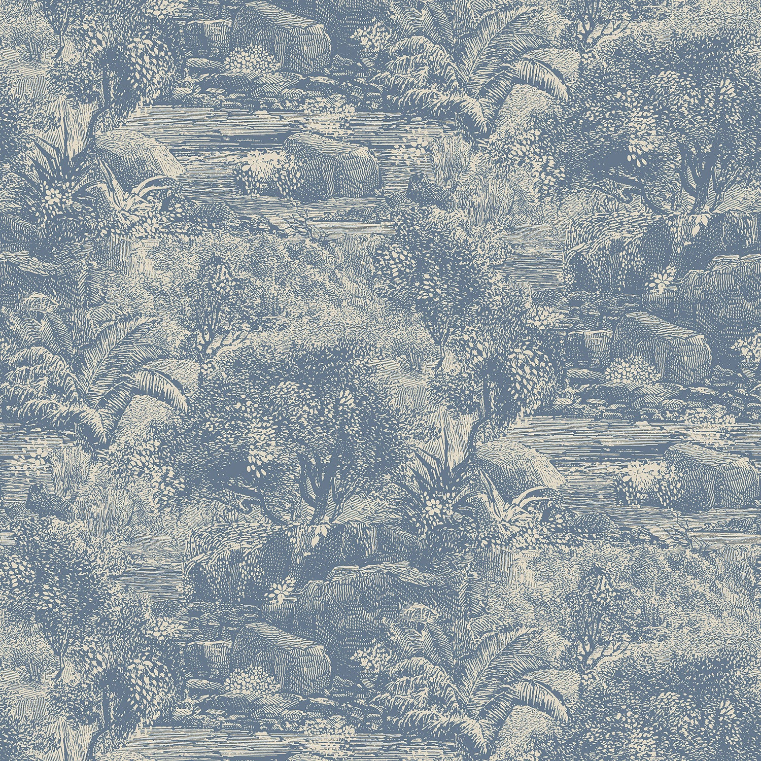 Island Paradise wallpaper for walls from Tango collection.