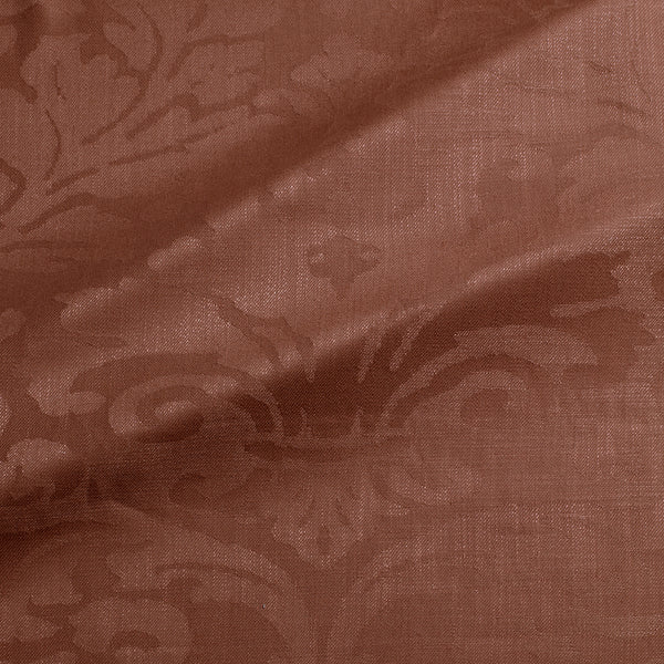 Fabric swatch of a contemporary damask fabric in a deep berry colour