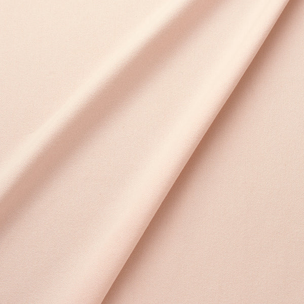 Fabric swatch of a eco-friendly plain baby pink fabric for curtains and upholstery