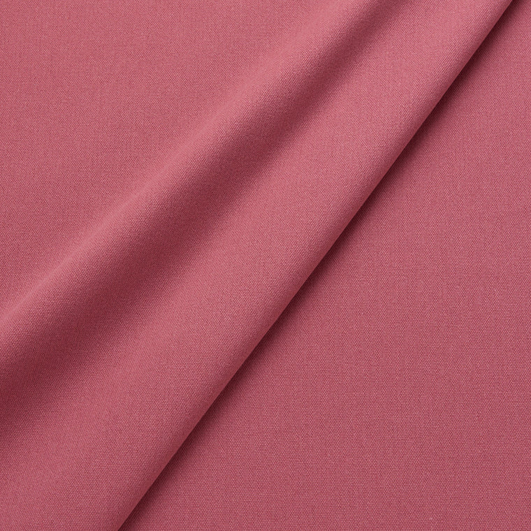 Fabric swatch of a eco-friendly plain pink fabric for curtains and upholstery