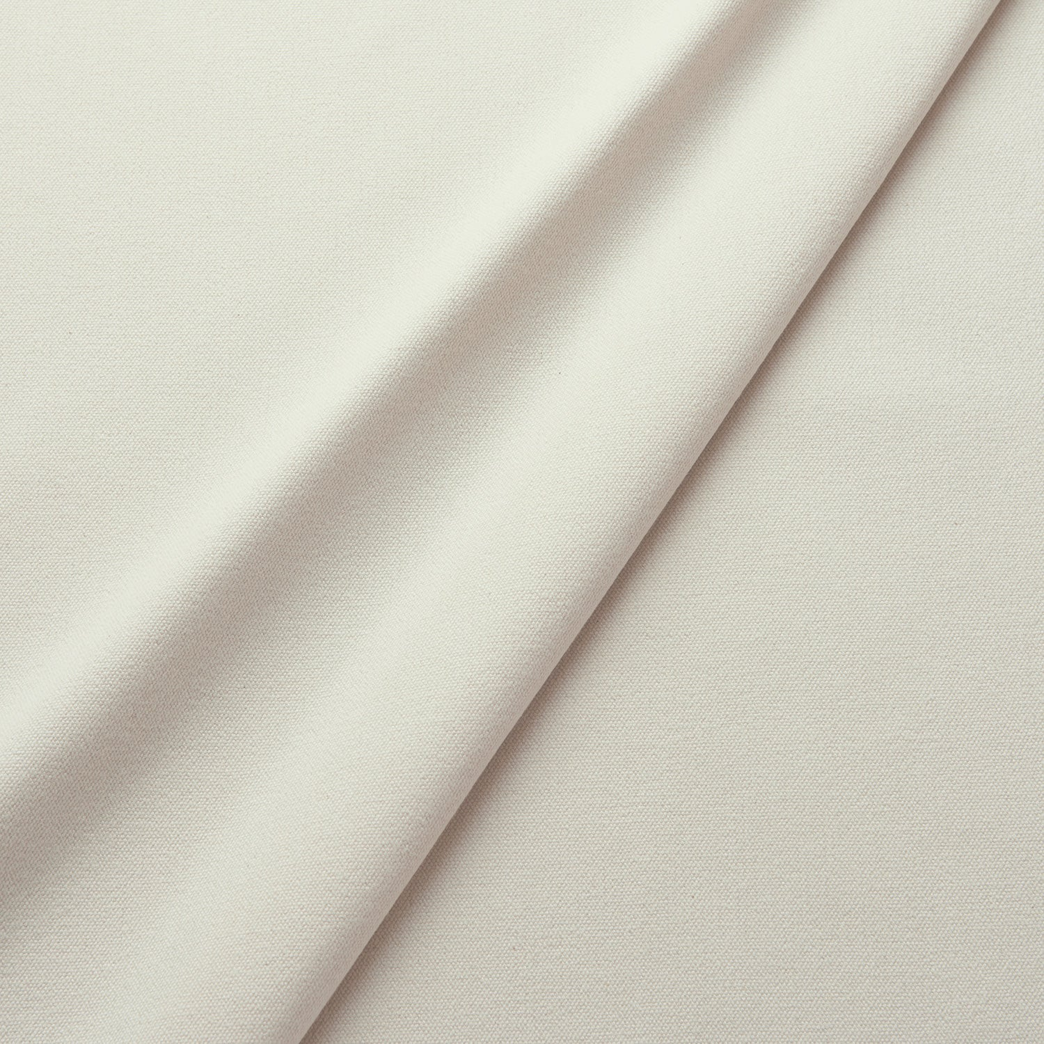 Fabric swatch of a eco-friendly plain light neutral  fabric for curtains and upholstery
