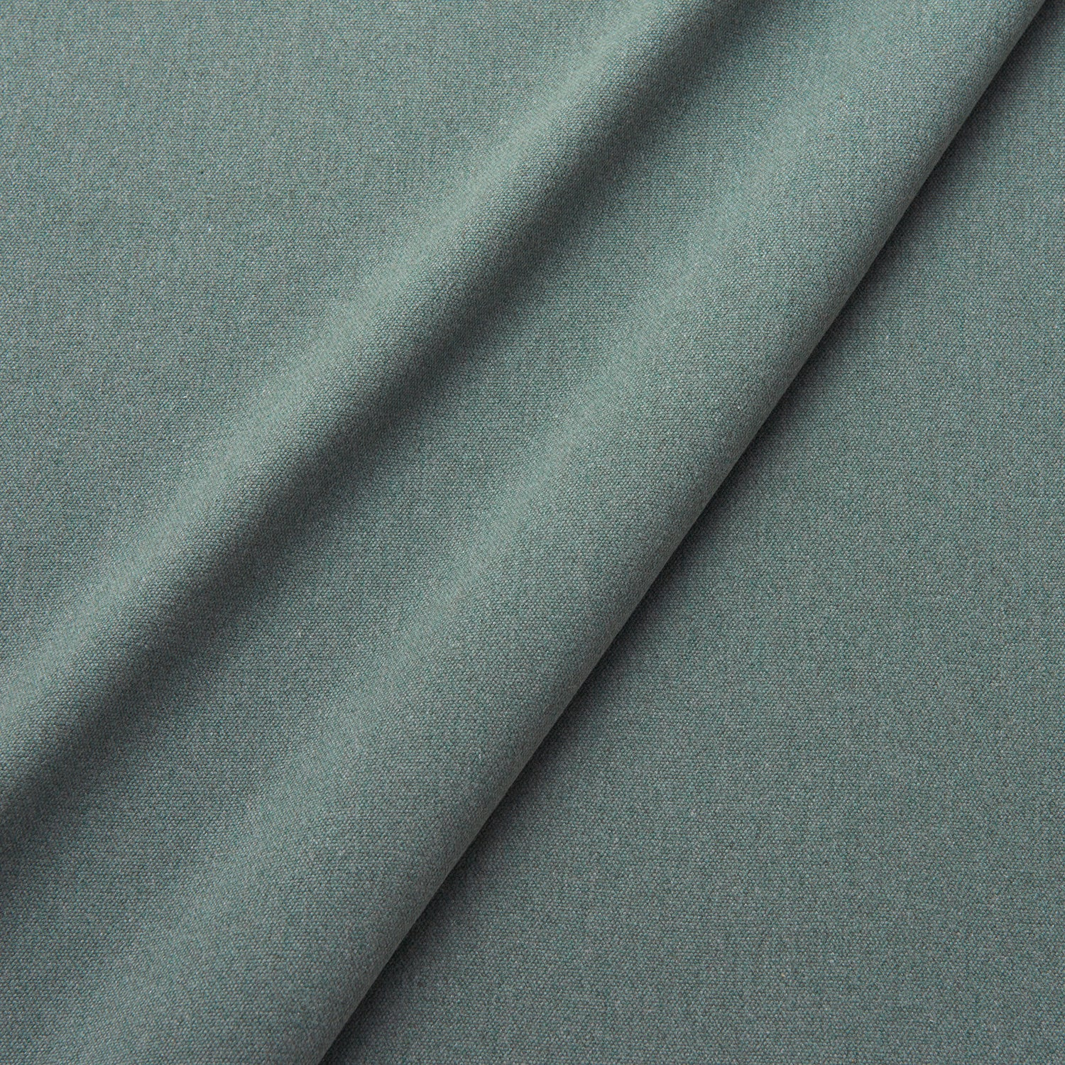 Fabric swatch of a eco-friendly plain grey fabric for curtains and upholstery