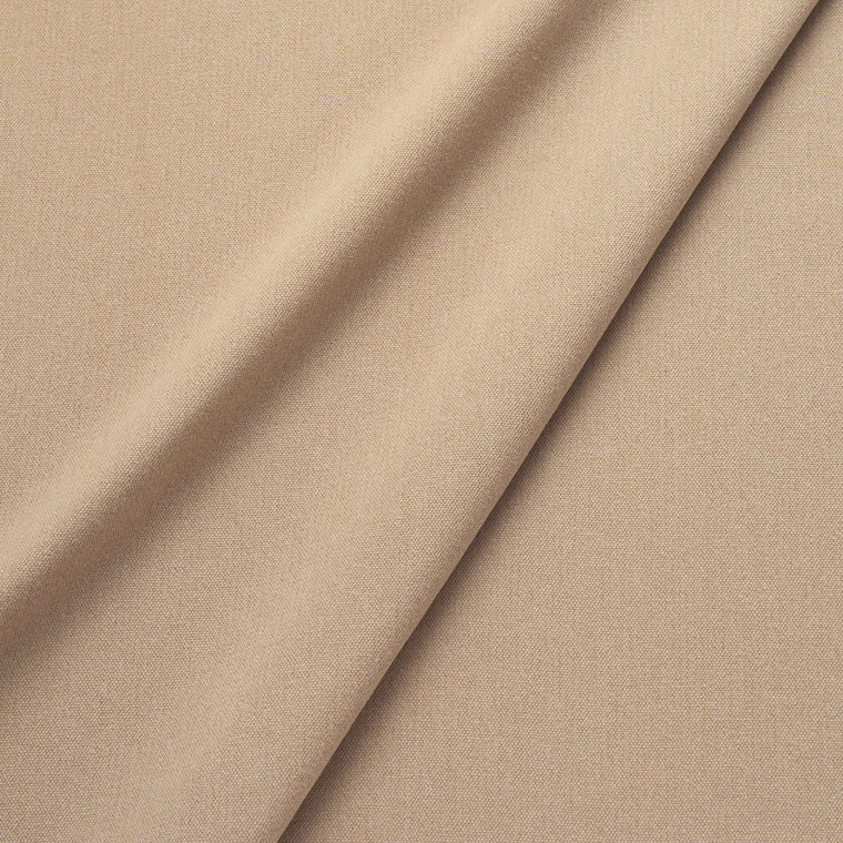 Fabric swatch of a eco-friendly plain neutral fabric for curtains and upholstery