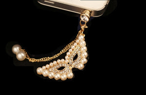 Mask Pearl Pendant Dustproof Plug