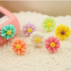 Sunflower Little Daisy Anti-dust Plug
