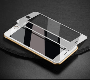 Glossy Carbon Fiber Tempered Glass