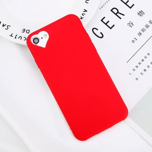 Heart Soft Silicone Phone Case
