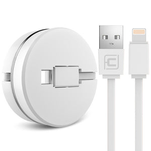 2 in 1 Retractable Charging Cable