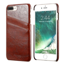 Load image into Gallery viewer, Retro PU Leather Case For iPhone
