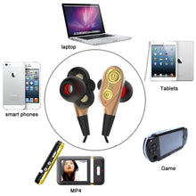 Load image into Gallery viewer, Dual Drive Stereo Wired Earphone
