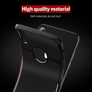 Carbon Fiber Texture Soft Case