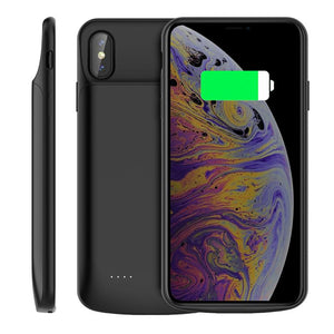 Battery Charger Case For iPhone Xs Max