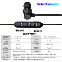 Load image into Gallery viewer, Bluetooth Magnetic Neckband Earphone