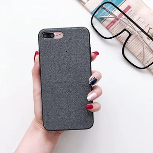 Full Protection Matte Cloth Case