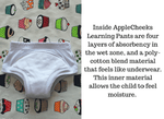 inside view of training pants- Bumbini Cloth Diaper Company