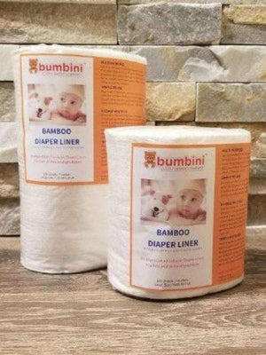 Large and Small Bamboo Biosoft Liners - Bumbini Cloth Diaper Company