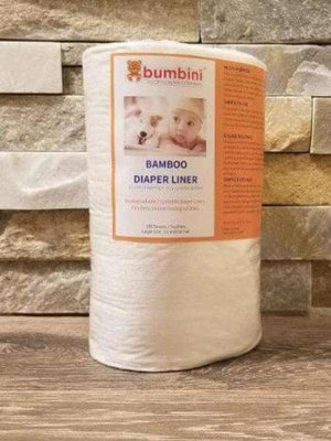 Large Bamboo Biosoft Liners - Bumbini Cloth Diaper Company