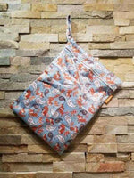 Medium Double Pocket Wetbag Fox - Bumbini Cloth Diaper Company
