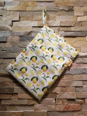 Medium Double Pocket Wetbag Lemons- Bumbini Cloth Diaper Company