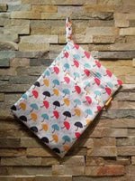 Medium Double Pocket Wetbag Umbrellas- Bumbini Cloth Diaper Company