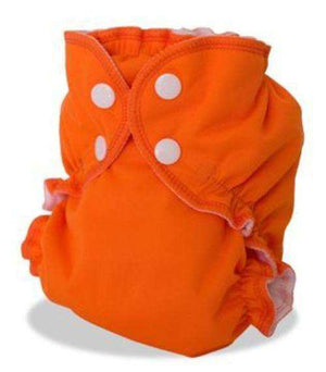 AppleCheeks Little Bundles that includes absorbent insert (Size 2) orange - Bumbini Cloth Diaper Company