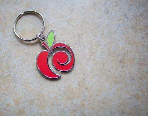 AppleCheeks Key Chain - Bumbini Cloth Diaper Company