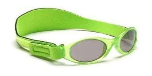 BabyBanz Adventure Sunglasses Lime Green - Bumbini Cloth Diaper Company