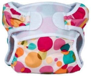 Bummis Swimmi Swim Diaper Multi Colored Circles - Bumbini Cloth Diaper Company