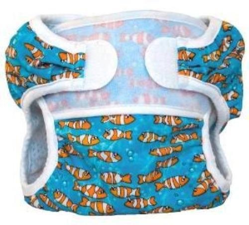 Bummis Swimmi Swim Diaper Gold Fishes - Bumbini Cloth Diaper Company