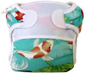 Bummis Swimmi Swim Diaper With Koi Fishes - Bumbini Cloth Diaper Company