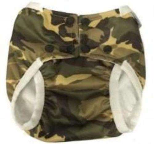 Monkey Doodlez Snap Swimmer Camo - Bumbini Cloth Diaper Company