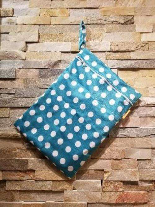 Medium Double Pocket Wetbag Dots- Bumbini Cloth Diaper Company