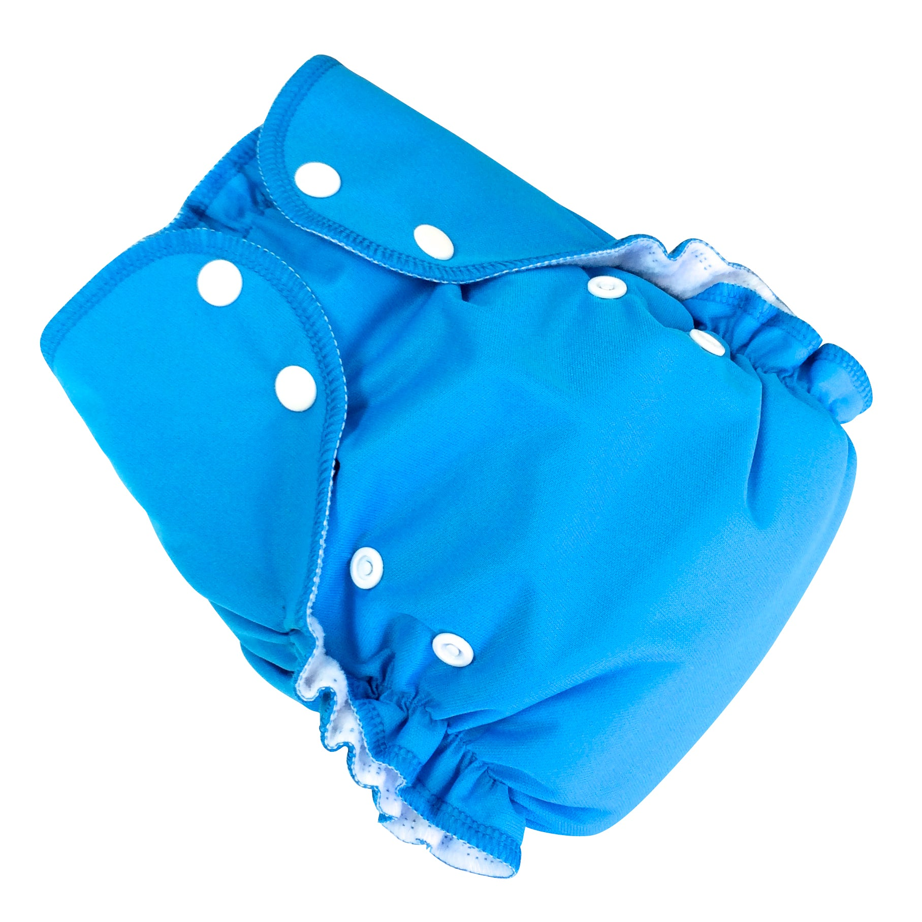 Duo pocket diaper - Aqua- Bumbini Cloth Diaper Company