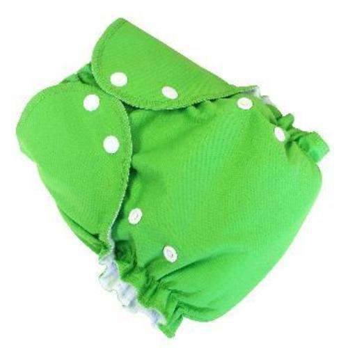 Duo pocket diaper - Green- Bumbini Cloth Diaper Company