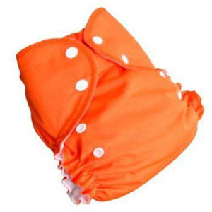 Duo pocket diaper - Orange- Bumbini Cloth Diaper Company