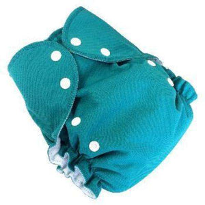 Duo pocket diaper - Turquoise- Bumbini Cloth Diaper Company